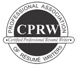InspiredResumes is CPRW Certified - Certified Professional Resumes Writers