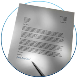Cover letters created by InspiredResumes